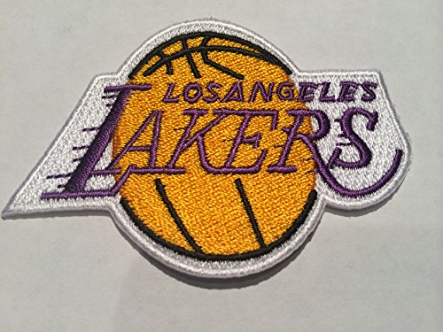 Los Angeles La Lakers Embroidered Iron On/sew on Patch 3 X 2 Inches