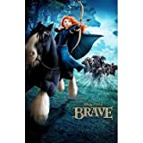 (11x17) Disney Brave Horseback Movie Poster