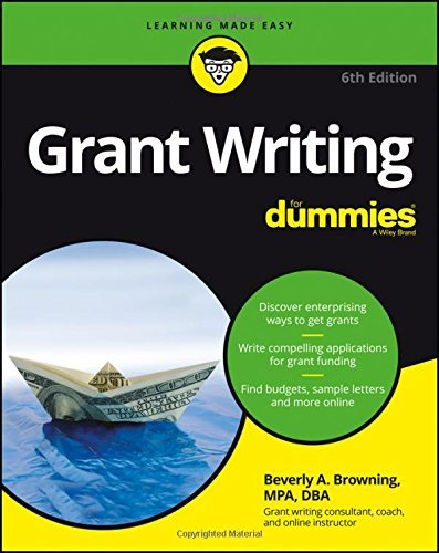 Grant Writing For Dummies by Beverly A. Browning (2016-10-03)