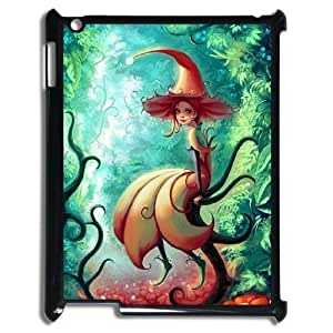 LZHCASE Diy Cover Custom Case Fairy For IPad 2,3,4 [Pattern-1]