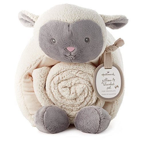 Lamb Pillow and Blanket Set - Epic Kids Toys