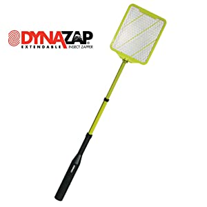 DynaZap Insect Zapper Electric Fly Swatter, Extendable