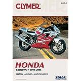 Honda CBR600F4 1999-2006 (Clymer Motorcycle Repair)