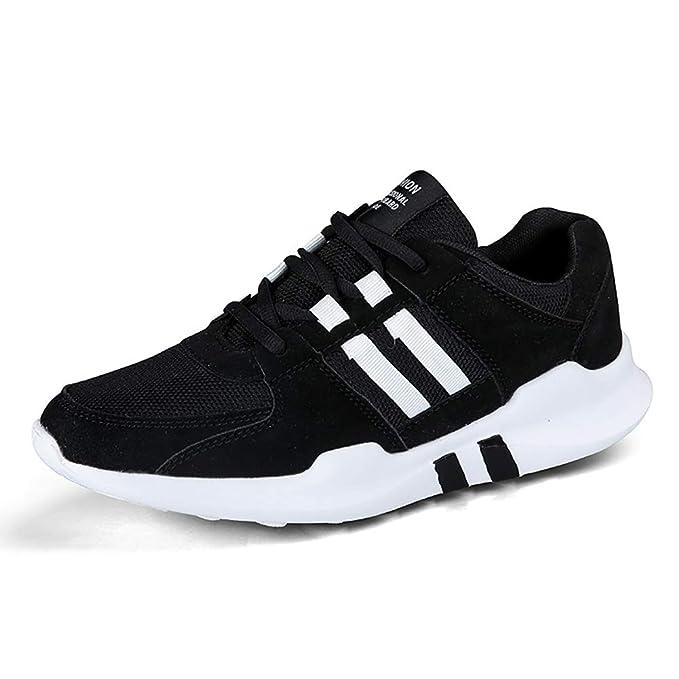FHTD Zapatillas deportivas para hombre, deportivas, para caminar, correr, correr, gimnasia, zapatillas de deporte, cómodas: Amazon.es: Ropa y accesorios