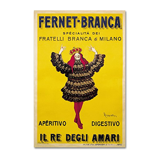 Fernet Branca Yellow by Vintage Apple Collection, 30x47-Inch