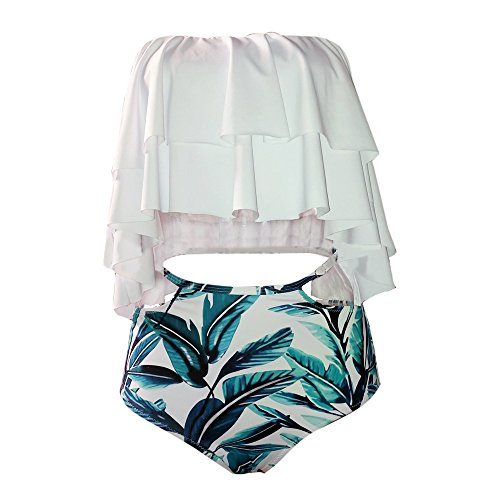 Imily-Bela-Womens-Bikini-Ruffle-Off-Shoulder-Top-Floral-Shorts-Swimsuit-Bathing-Suit-2pc-Sets