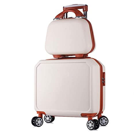 La maleta 16 Pulgadas Equipaje Trolley Tronco Traje de Dos ...