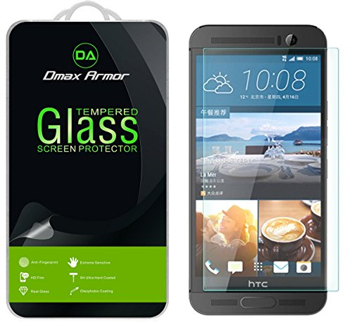 Tempered Glass Screen Protector for HTC One M9 (Clear) - 4