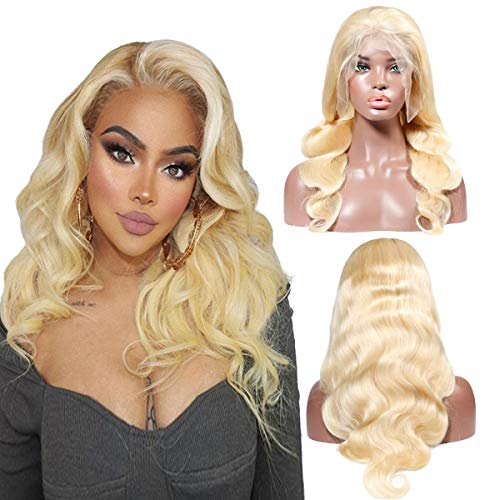 Kreesi 613 Blonde Body Wave Lace Front Human Hair Wig 26 inch for Women with Baby Hair Body Wave 100% Brazilian Virgin Human Hair Wigs from Kreesi