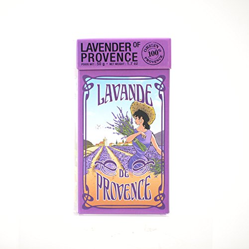 L'Ami Provencal Lavender Flowers in GIft Box - 1.7 oz by L'Ami Provencal
