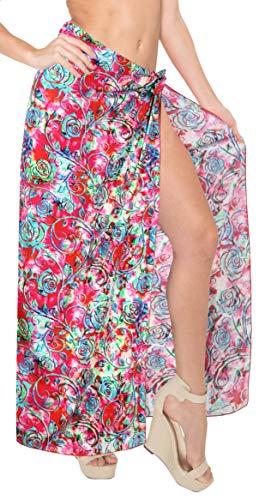spiaggia crociera LA isole costume o997 tra le Rosa LEELA coprire bikini più delle sarong donne da beachwear involucro il bagno 4Rz4r