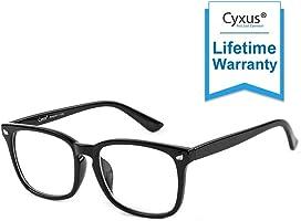 Cyxus Filtro de Luz Azul Anti Tensión de Ojos [Mejor Sueño] Gafas de Computadora (Lentes Transparentes) Unisexo...