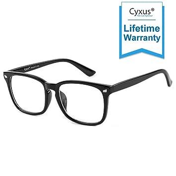 69708ac1f46c Cyxus Blue Light Filter Computer Glasses for Women Men Blocking UV Headache  [Anti Eye Eyestrain