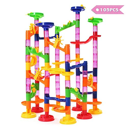 FUNTOK Marble Run Toy, Marble Race Coaster Set Marble, used for sale  Delivered anywhere in USA