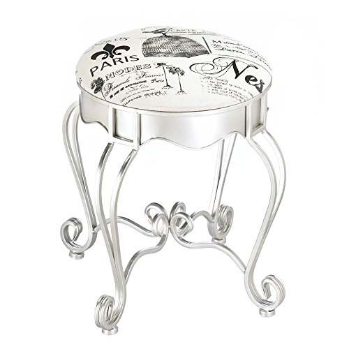Smart Living Company Pretty in Paris Metal Stool
