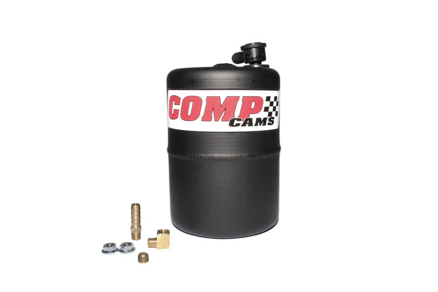 Competition Cams 5200 Vacuum Canister, Black Powder Coated Aluminum