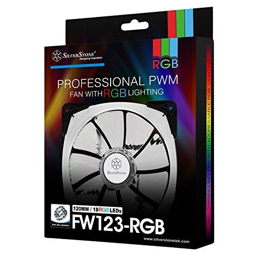 Ventilador Silverstone Technology Pwm 120mm Rgb Fan With Dua
