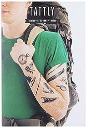 Tattly Temporary Tattoos Camping Set, 1 Ounce
