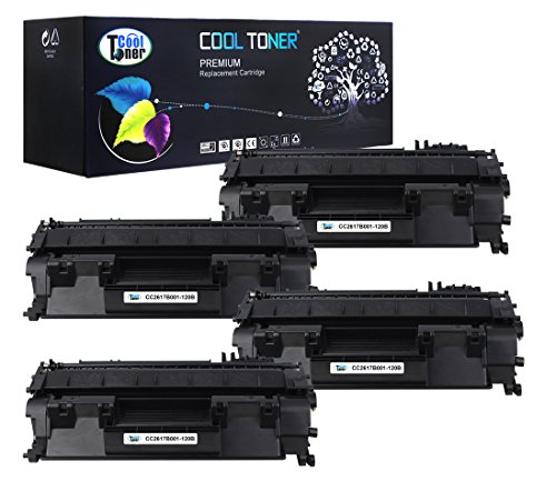 Cool Toner 4 Pack Compatible Canon 120 Cartridge 120 (2617B001AA) Black Toner Cartridge For Canon D1150 D1320 D1350 Printer