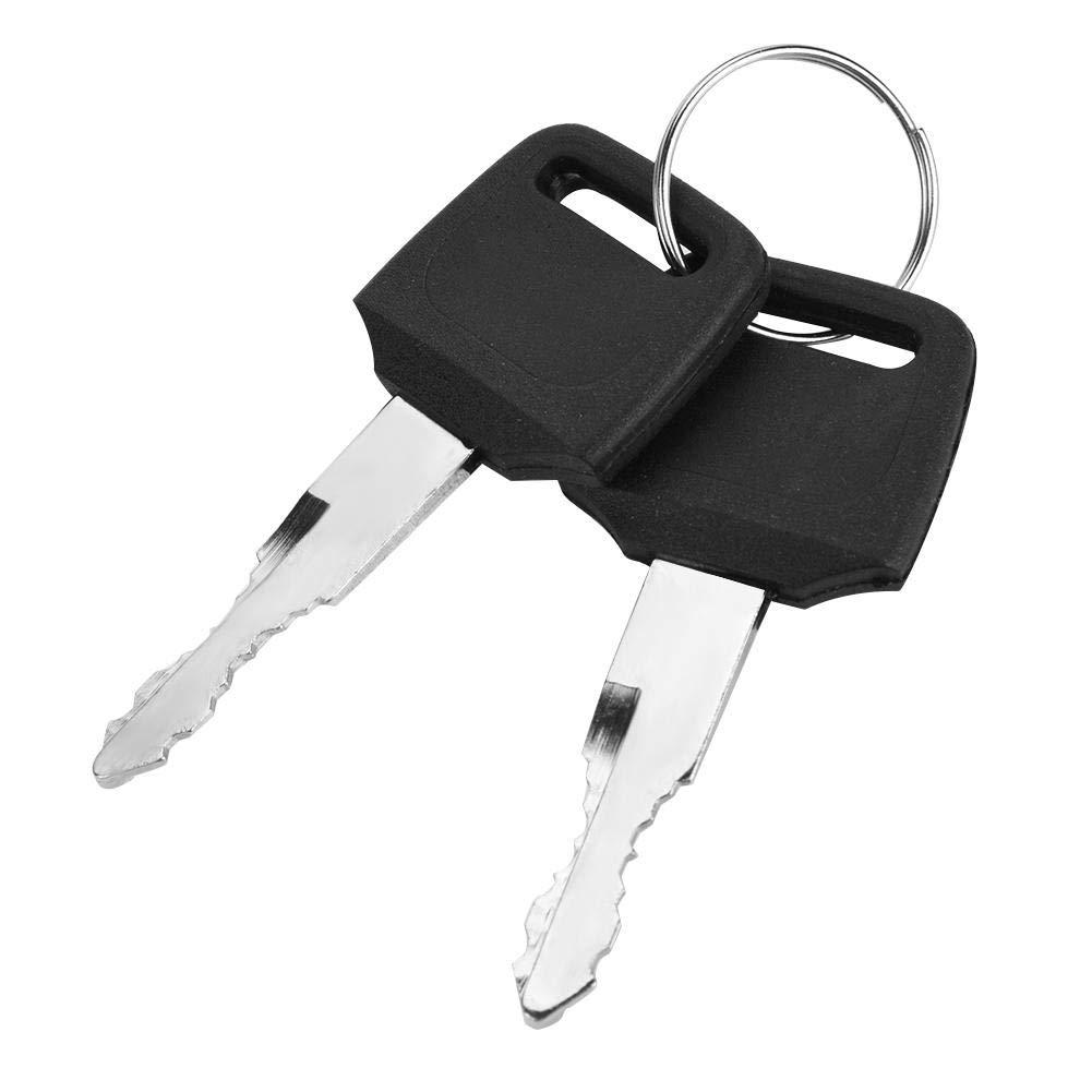 KIMISS Motorcycle Ignition Switch Fuel Gas Cap Seat Lock Keys for Honda CMX250 Rebel 1985-2014 CA125