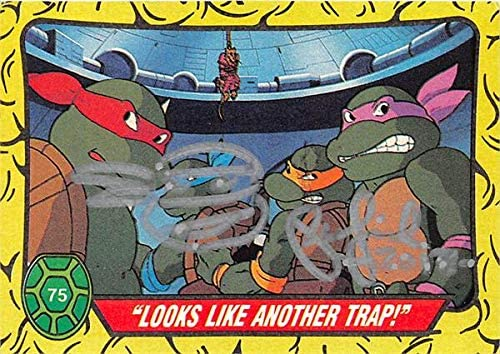 Peter Laird autographed trading card Teenage Mutant Ninja ...