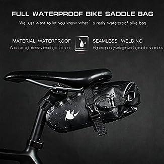 Bolsa bikepacking trasera compacta 7