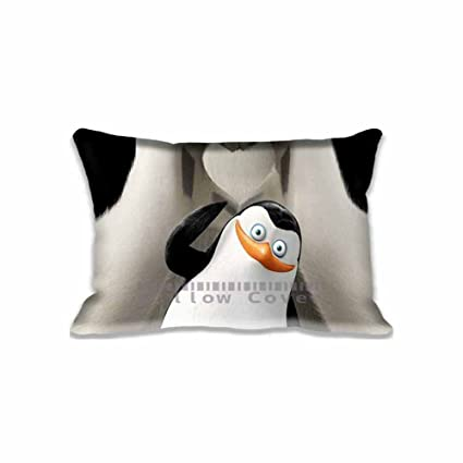 Penguins Of Madagascar Private And Corporal Unique Throw Pillow Covers  Print , Madagascar Pillows Bedroom Cotton
