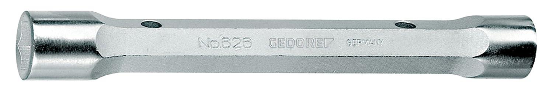 GEDORE 626 10x11 Doppelsteckschlü ssel, massiv, 6-Kant 10x11 mm Gedore Werkzeugfabrik GmbH & Co. KG