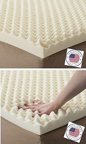 Eva Medical Egg Crate Convoluted Foam Mattress Pad 3