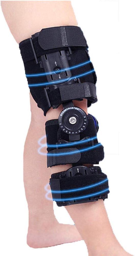 AOPAWOX Bisagras Rodillera ortopedica para niños - Ortesis de Rodilla Ajustable - Soporta desgarros de menisco, Dolor de articulaciones?Lesiones de ligamentos y esguinces