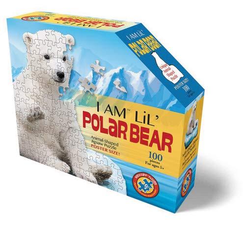Madd Capp puzzle-i B079V4RZ9W Madd AM Lil Capp Polar Bear,マルチカラー B079V4RZ9W, キタアダチグン:cd74bf35 --- ero-shop-kupidon.ru