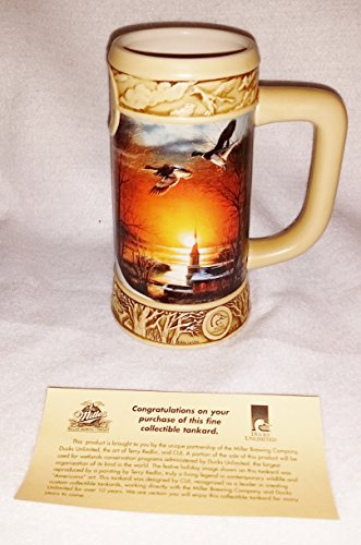 Miller Ducks Unlimited Stein Terry Redlin Collection 1996