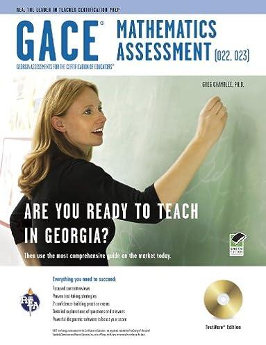 amazon com georgia gace high school math assessment 022 023 w rh amazon com ASVAB Math Study Guide Printable High School Chemistry Book