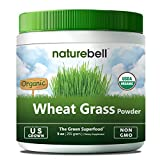 Sustainably U.S Grown - Organic Wheat Grass Powder, 9 Ounce, 85 Servings, Rich