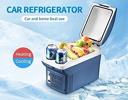 Amazon.es: AMYMGLL Mini 8L Car Thermo Electric Cooler/220V Home y ...