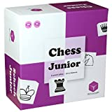 Chess Junior - Chess Set for Kids and Beginners. Teaching Chess Board Game for Children 5 6 7 8 9 Year Olds and Up - with Parent-Child Tutorial (Purple/White)
