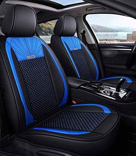 Phcom Leather Ice Silk Car Seat Cover - Non-Slip Suede-Lined Universal Fit Seat Cushion for Fabric And Leather Car Seats,D,B: Amazon.co.uk: Sports & Outdoors