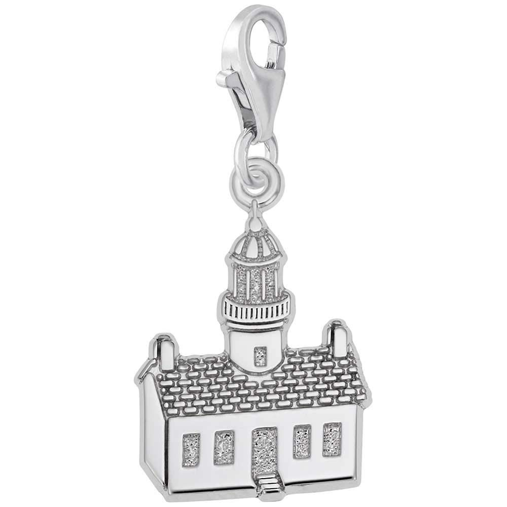 California Charm with Lobster Clasp Rembrandt Charms Old Point Loma Lighthouse