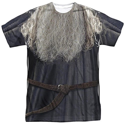 Lord Of The Rings- Galdalf The Grey Costume Tee T-Shirt Size L