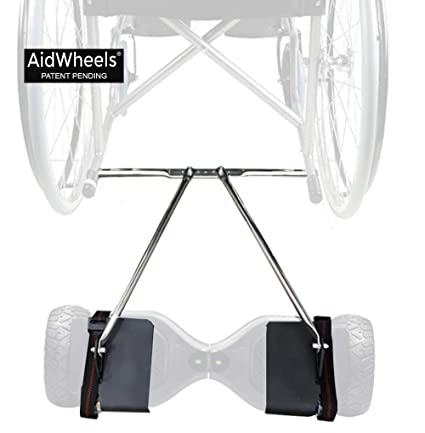 Amazon.com: Hoverboard Wheelchair Adapter AidWheels: Health ...