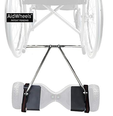 Adaptador AidWheels de patinete electrico hoverboard a silla ...