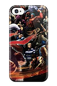 Hot Snap-on Street Fighter Hard Cover Case/ Protective Case For Iphone 4/4s