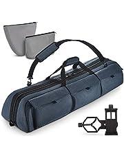 Multipurpose Telescope Case - Fits Most Telescopes - 40x11.5x9 inch - Bonus Smart Phone Adapter Included