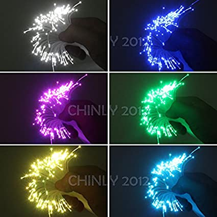 //roll PMMA plastic end glow fiber optic cable for star sky ceiling all kind led light engine driver /… CHINLY 0.04in 1.0mm 984ft 300M