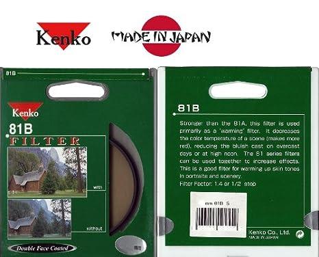 Kenko Japan 62mm 81B Warming Digital Filter 62 81B S