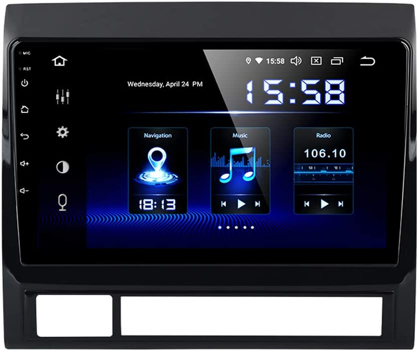 Dasaita 9 Android 9.0 Car Stereo for Toyota Tacoma Corolla Sienna 2016 2017 2018 Head Unit with 4G RAM 64G ROM Car Radio Touch Screen GPS Navigation Dash Kit