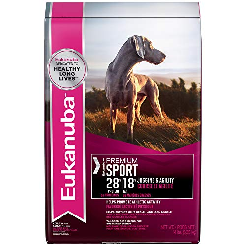Eukanuba Premium Condition Adult 28/18 Dog Food For Athletic Dogs 14 Pounds
