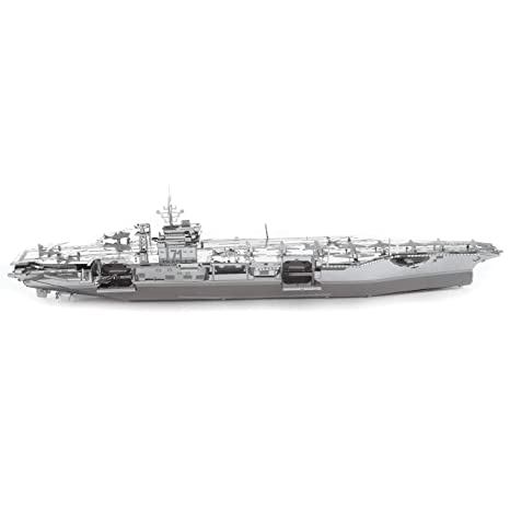 ICONX: Kit modelo de metal del portaaviones de USS Roosevelt ...