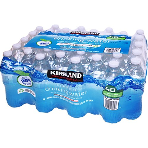 Kirkland Signature Purified Drinking Water, 40 Count