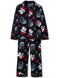 star wars storm trooper holiday christmas pajama set
